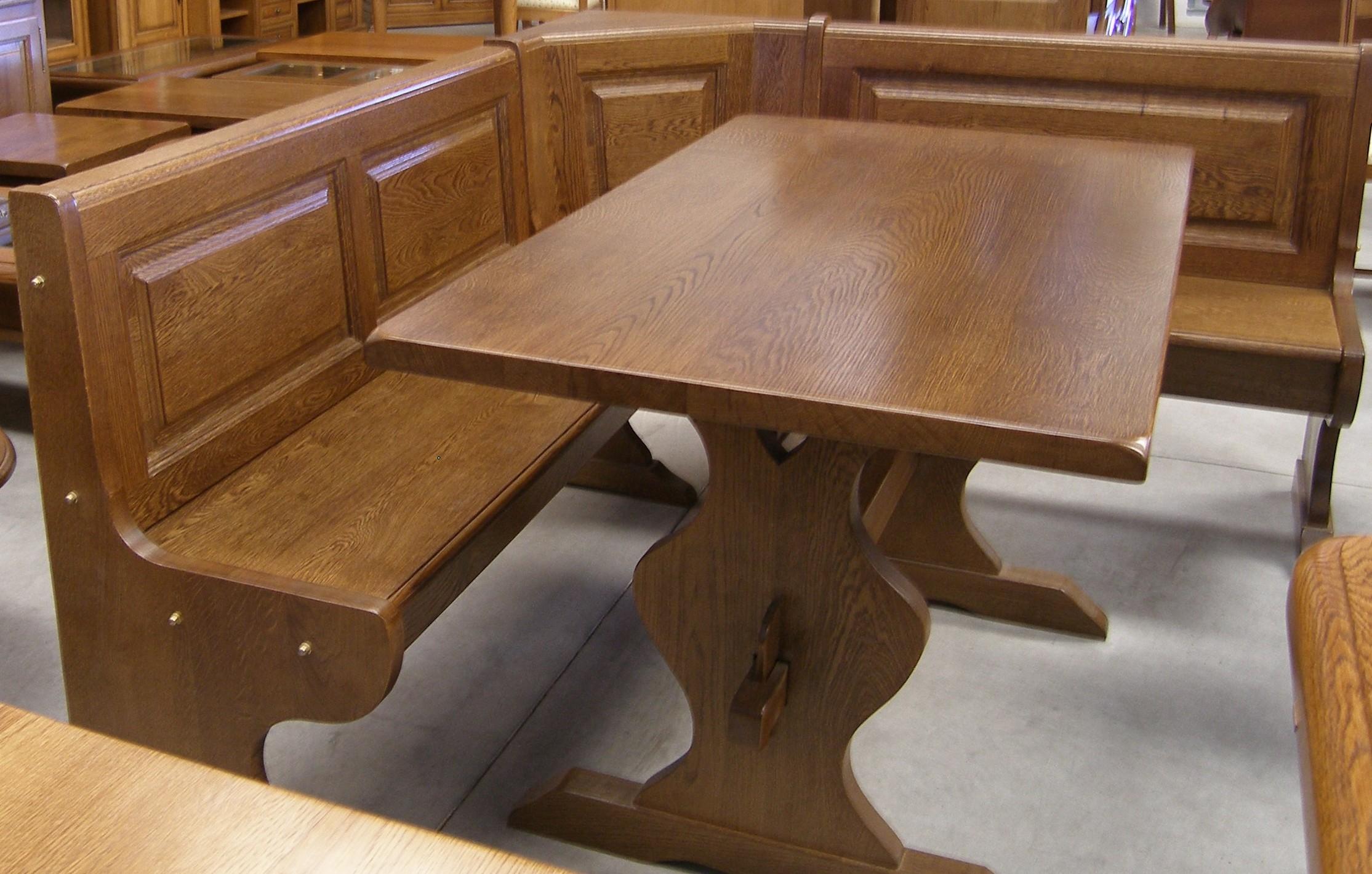 El desv n del roble cat logo mesas de cocina - Mesa rinconera para cocina ...